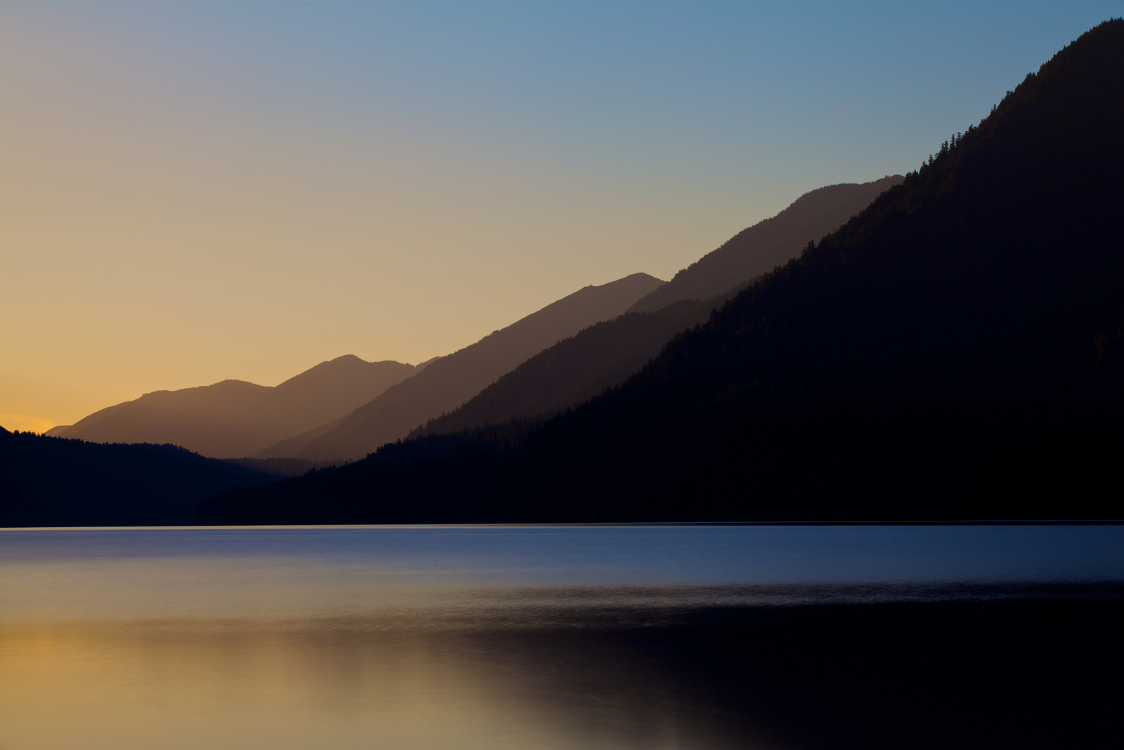 Lake Crescent Layers