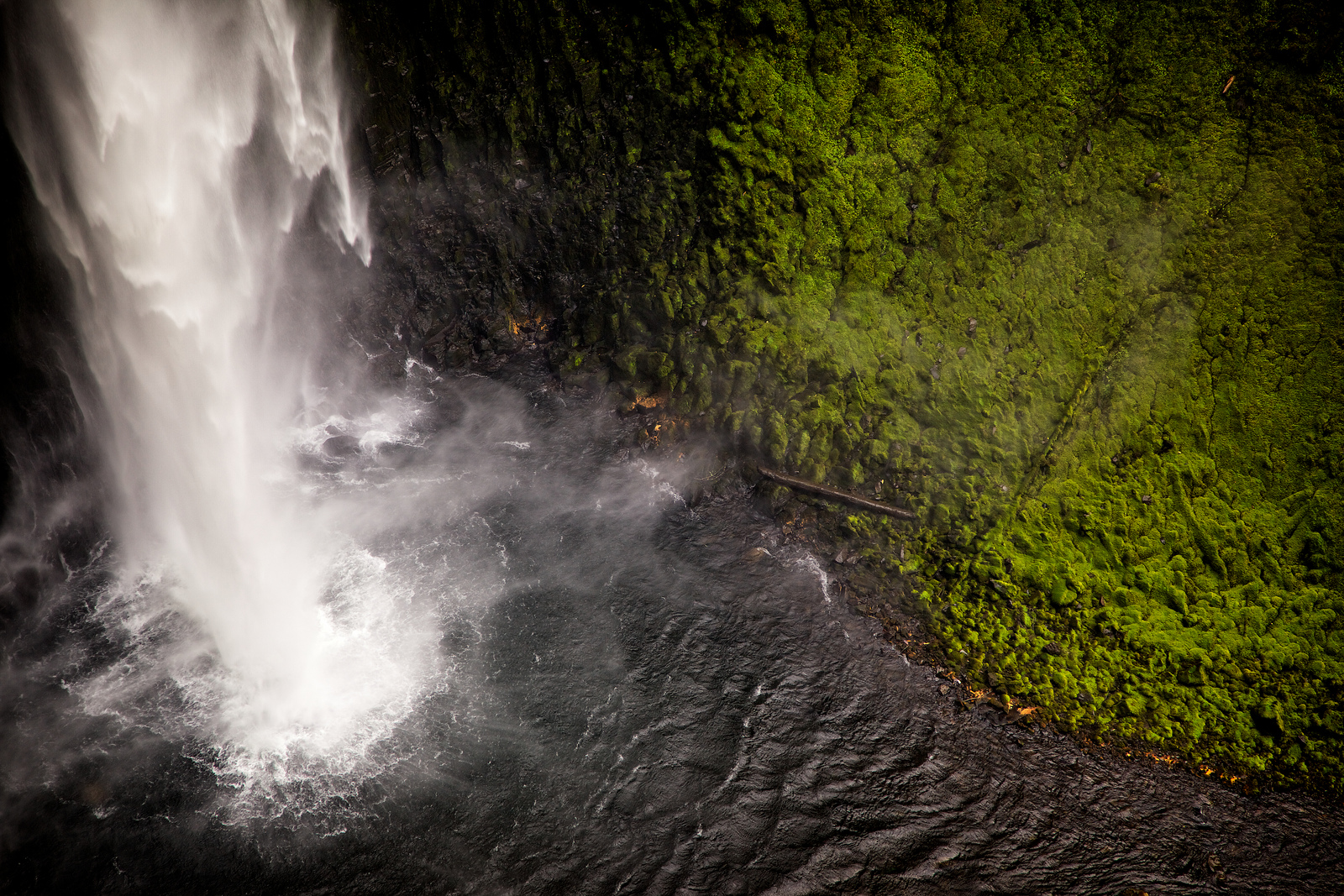 Salt Creek Falls Detail