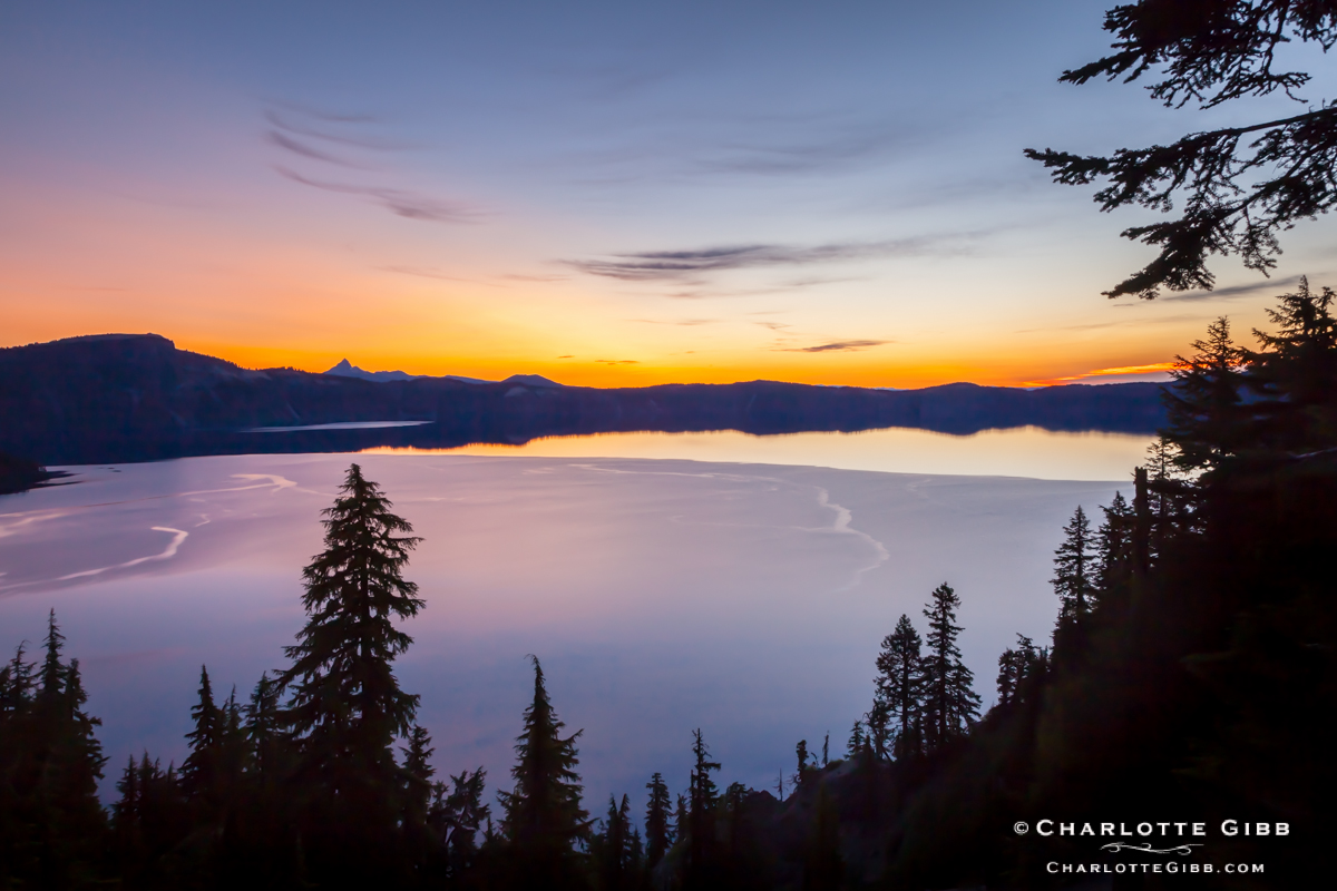 Sunrise Glow, Crater Lake