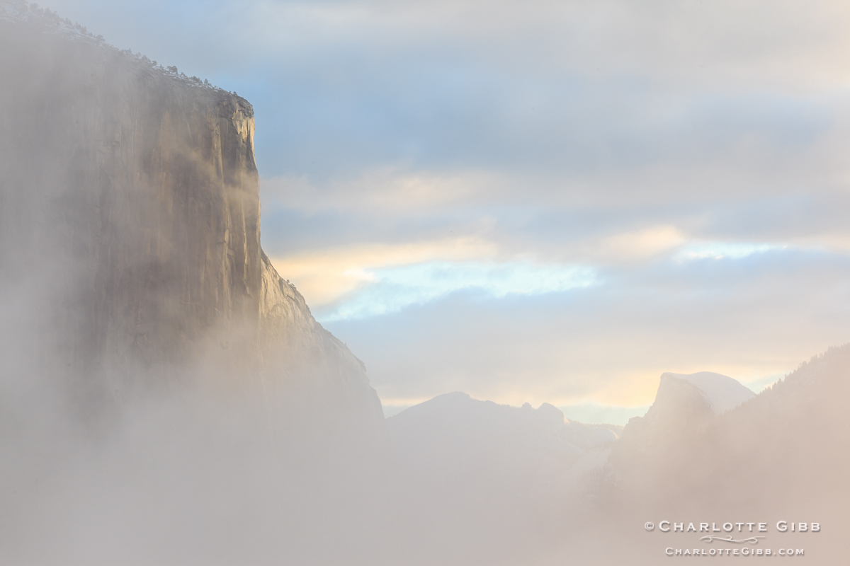 El Cap Morning Light, February 2014