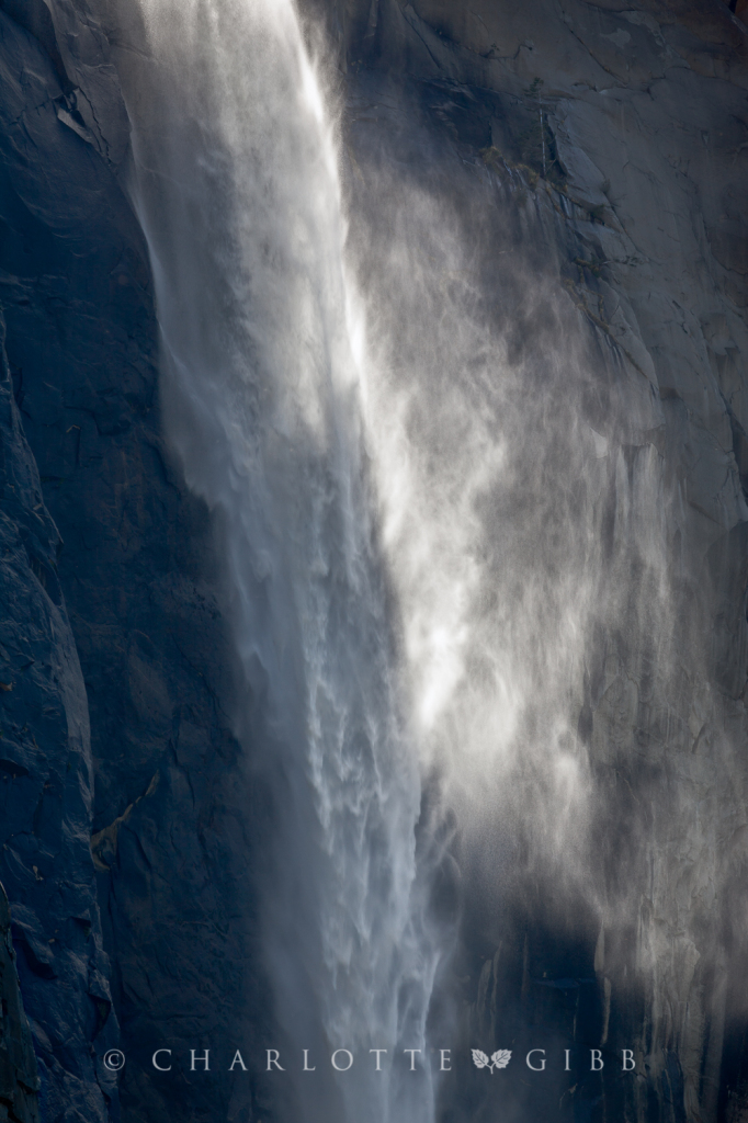 Bridalveil Fall Light, April, 2014