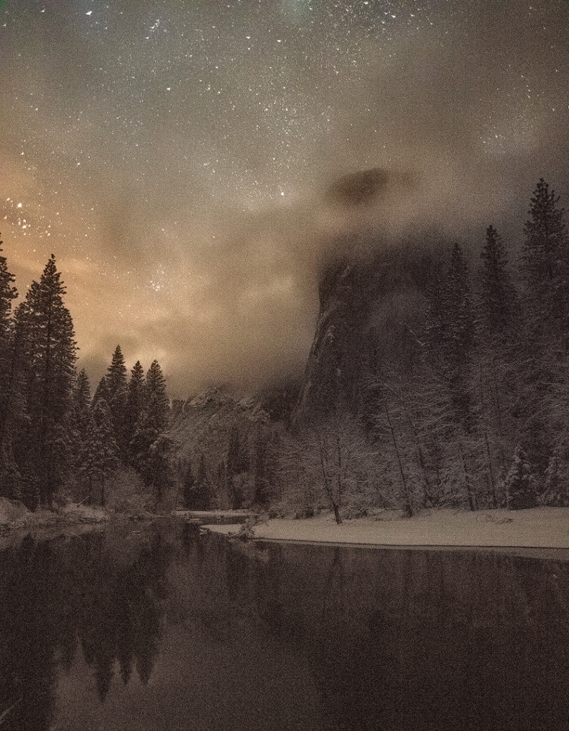 """El Capitan Winter"", January 31, 2016, Yosemite"